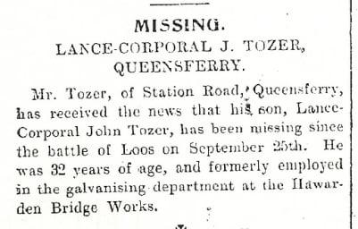 Flintshire Observer 11th November 1915