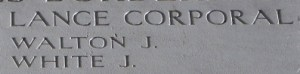 WALTON, Joseph - close up on his name.