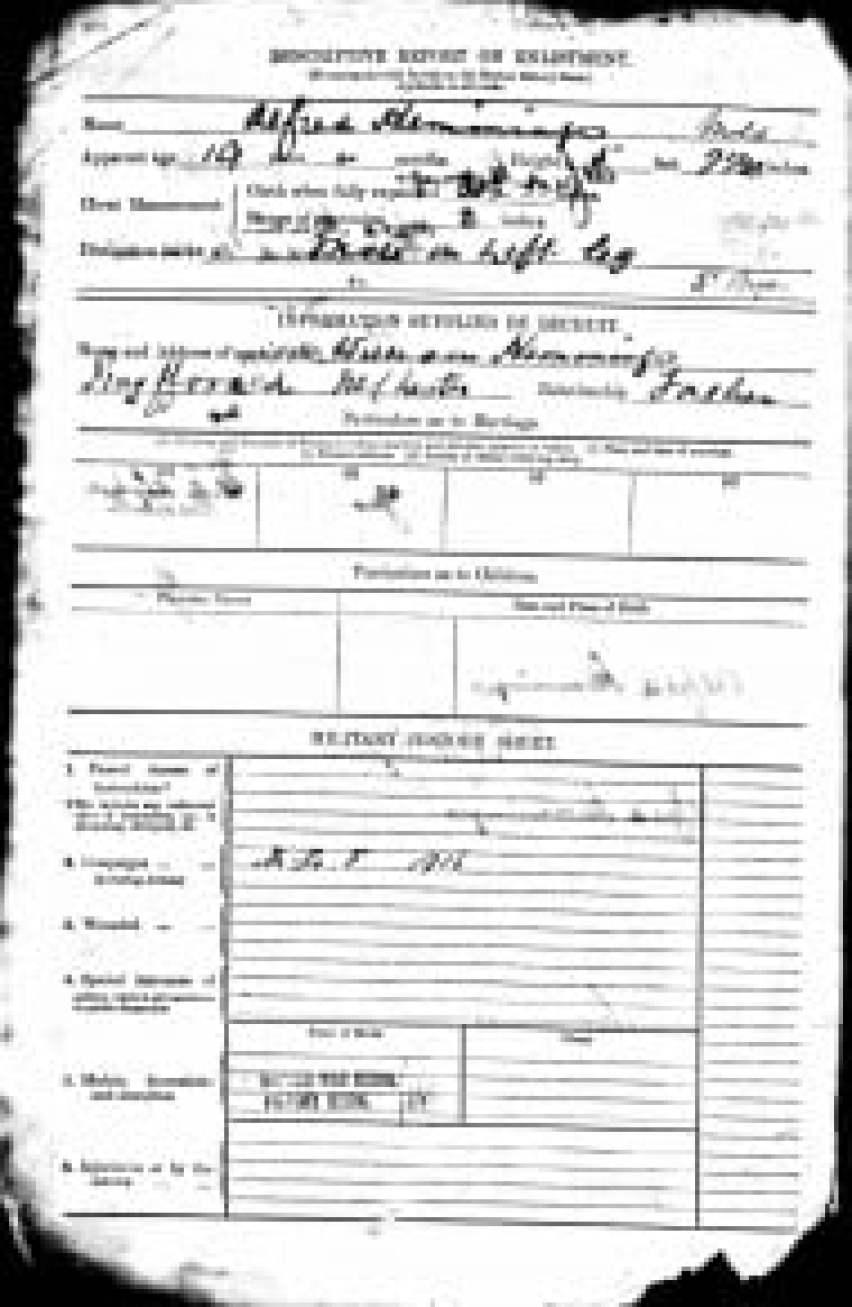 Description on enlistment