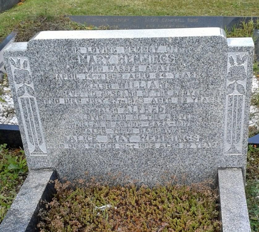 Hemmings grave