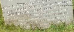 j o jones grave mostyn cemetery