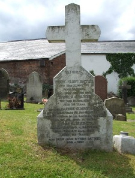 The Batters family grave in Prestatyn Churchyard