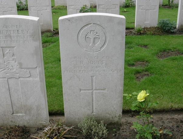 Bert Jones Grave (from Find a Grave)