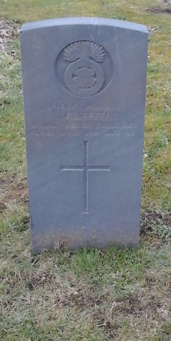 Tom Griffiths grave, Hope Cemetery