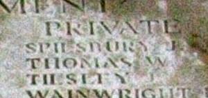 THOMAS, William Gravestone - Saltney 3
