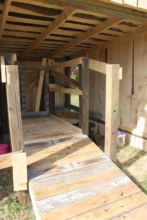 How To Build An Elevated Milking Stanchion | www.flipflopbarnyard.com