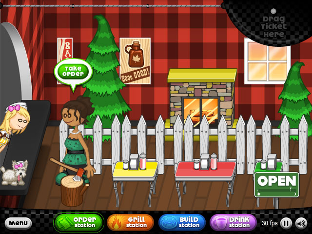 Restaurant Games Papas Freezeria