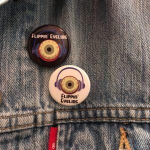 Flippin' Eyelids Button