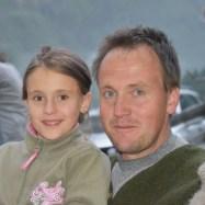 Bauer Heinrich mit Tochter