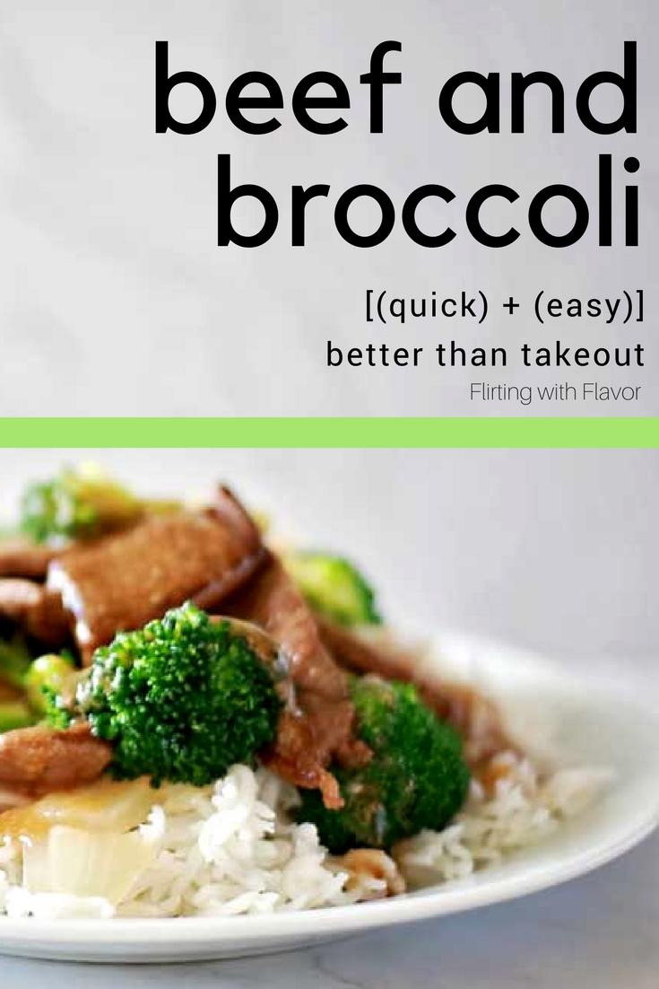 Beef and broccoli by Flirting with Flavor