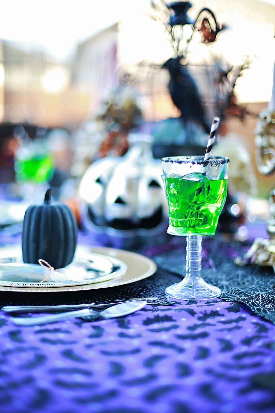 Creepy Crawler Craveyard Punch and Party by Flirting with Flavor