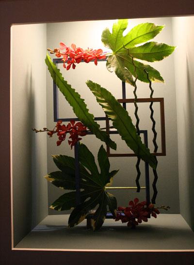 Individual Flower Arrangements At Philadelphia Flower Show