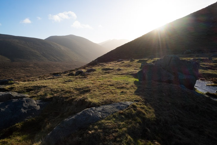 Hare's Gap at the top