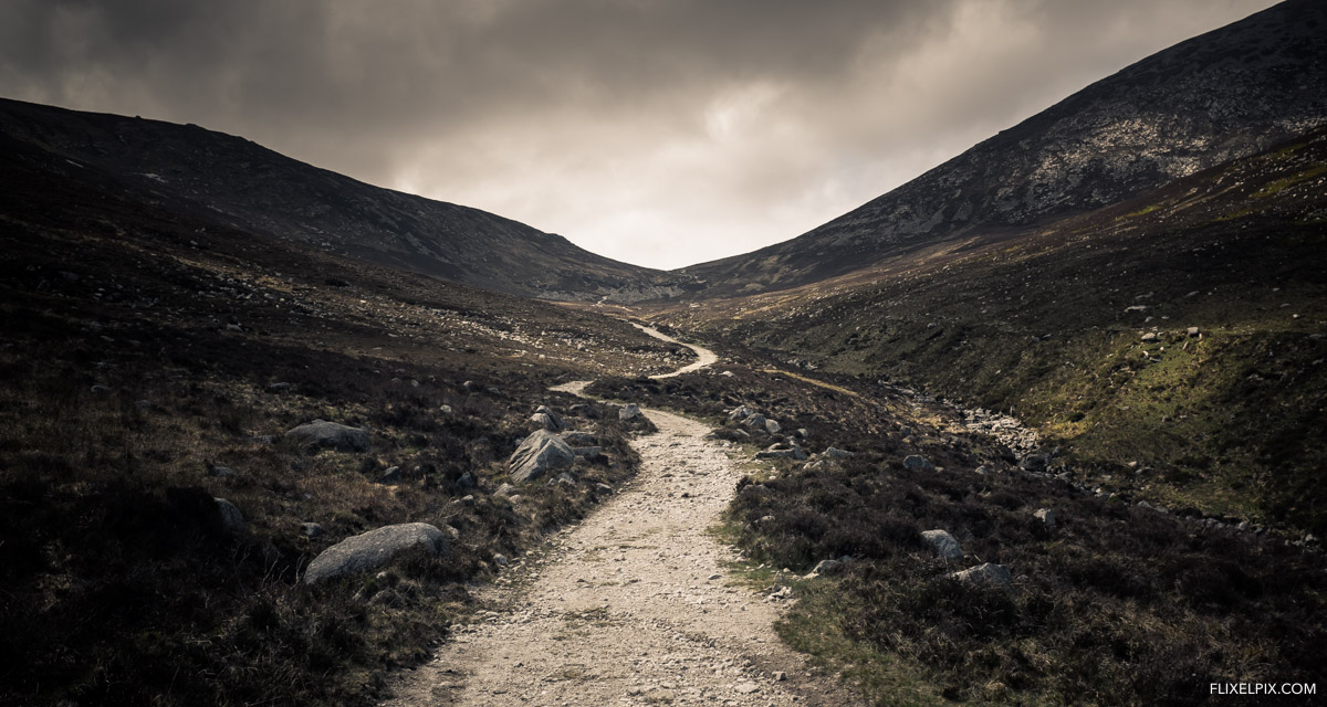 Bloody Bridge to the Mourne Wall