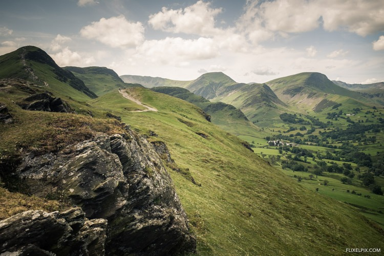 Catbells to newlands valley