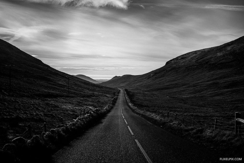 Road through the Mournes