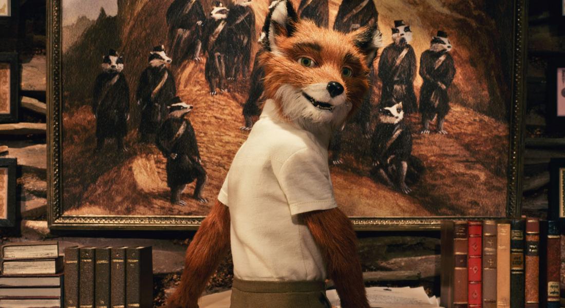 Wes Anderson's animated Roald Dahl adaptation Fantastic Mr. Fox (2009)