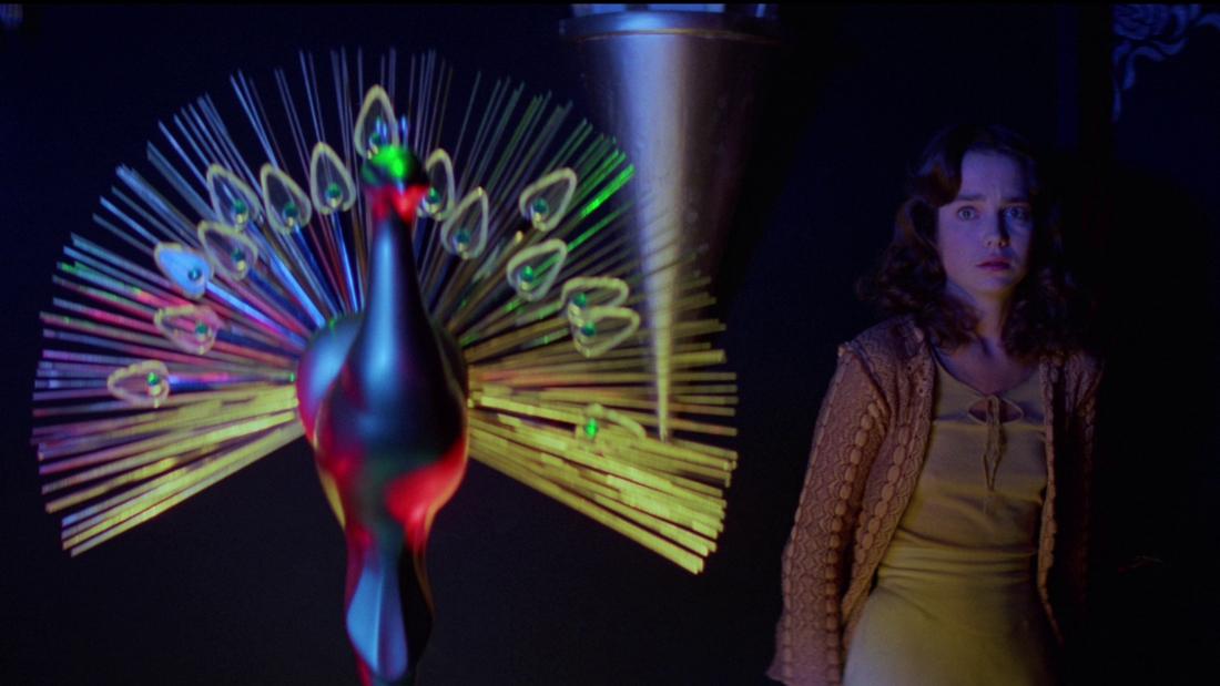 Suzy Bannion (Jessica Harper) in Dario Argento's Suspiria (1977)