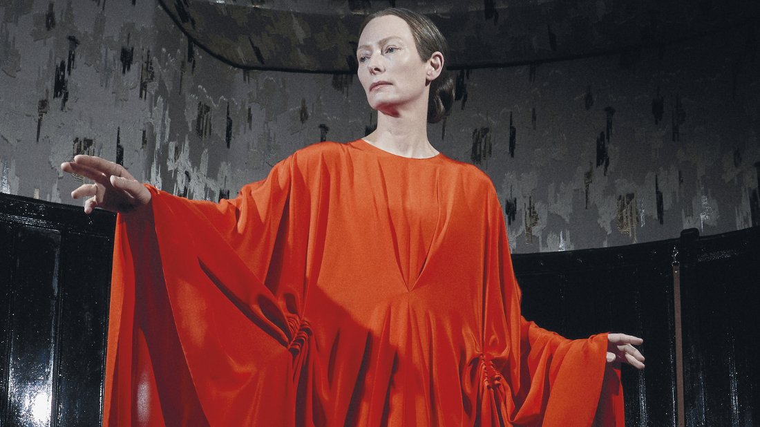 Madame Blanc (Tilda Swinton) in the Suspiria remake