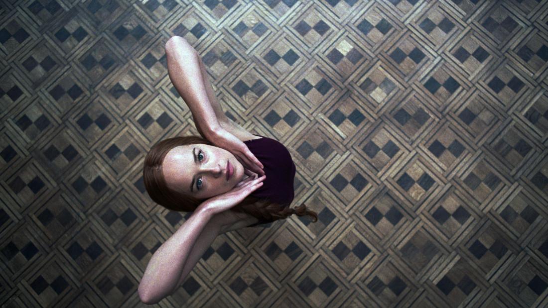 Susie Bannion (Dakota Johnson) dancing in Suspiria (2018)