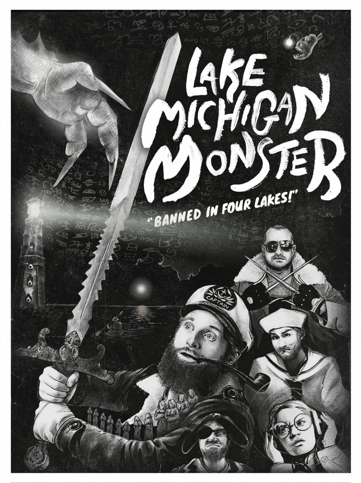 Poster for Lake Michigan Monster