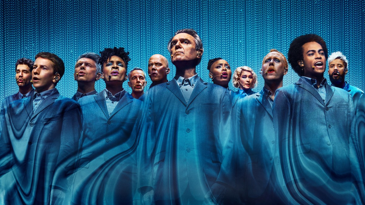 The musicians of David Byrne's American Utopia directed by Spike Lee for HBO