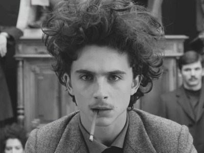 Timothee Chalamet in The French Dispatch
