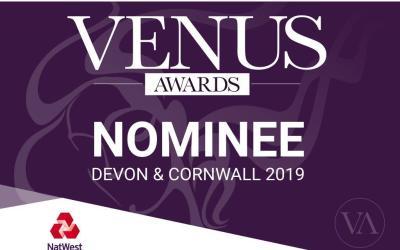 Float Digital Nominated for Devon & Cornwall Venus Awards