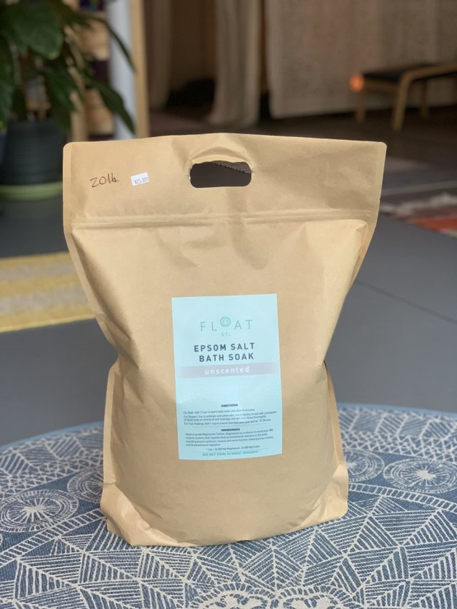 20 lb. Epsom Salt Bag – FLOAT STL Brand