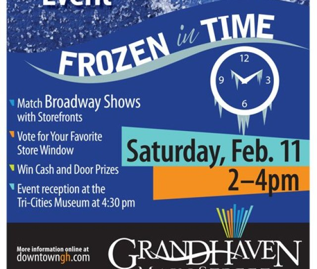 Feb 11 Frozen In Time Live Mannequin Event