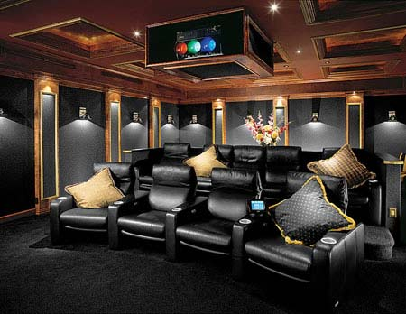 Home Theater Design Ideas Home Designs Project