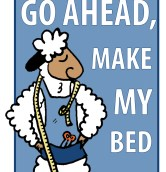 Go ahead... make my bed!