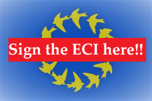 firma iniciativa ciudadana europea Sign