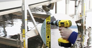 Easy Level Legs for Boat Lifts