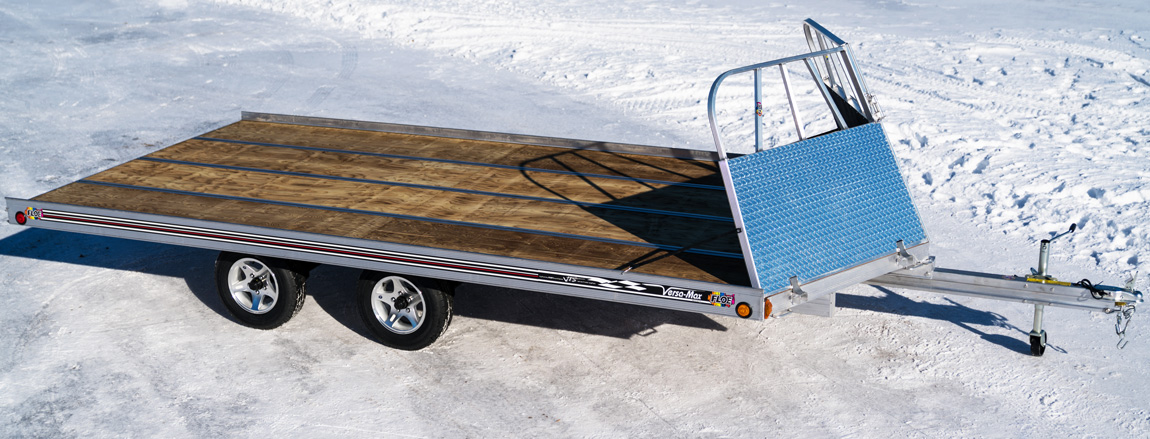 Super Aluminum Flatbed Trailers For Atvs And Snowmobiles Wiring Digital Resources Sulfshebarightsorg