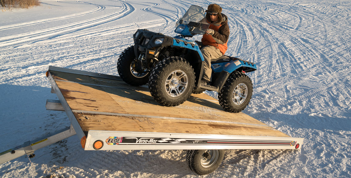 Prime Aluminum Flatbed Trailers For Atvs And Snowmobiles Wiring Digital Resources Sulfshebarightsorg