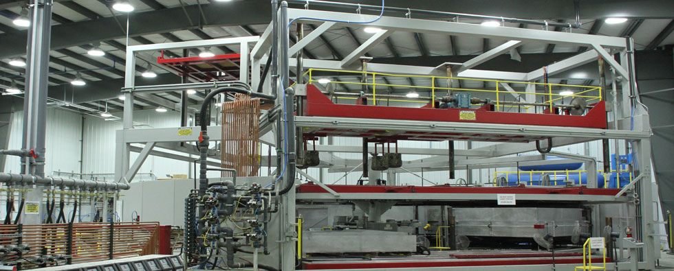 Thermoforming machinery.