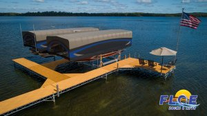 FLOE Docks Lifts beautiful summer