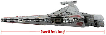 Massive Star Wars Rebel Attack Cruiser