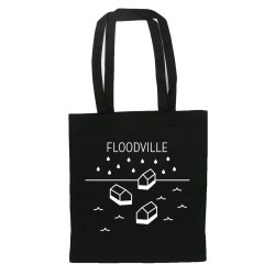 Floodville tote bag