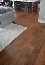 Custom Carpet Inlay Hardwood