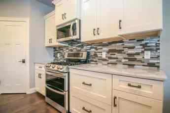 Transitional Kitchen Backsplash