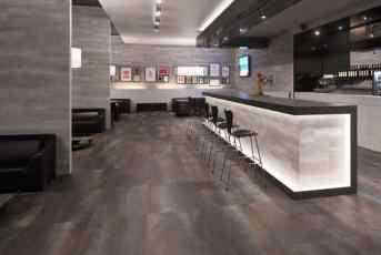 Modern Restaurant Tile floor