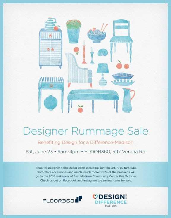 Designer rummage sale