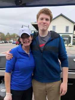 Tara Klingeil with her son Conner