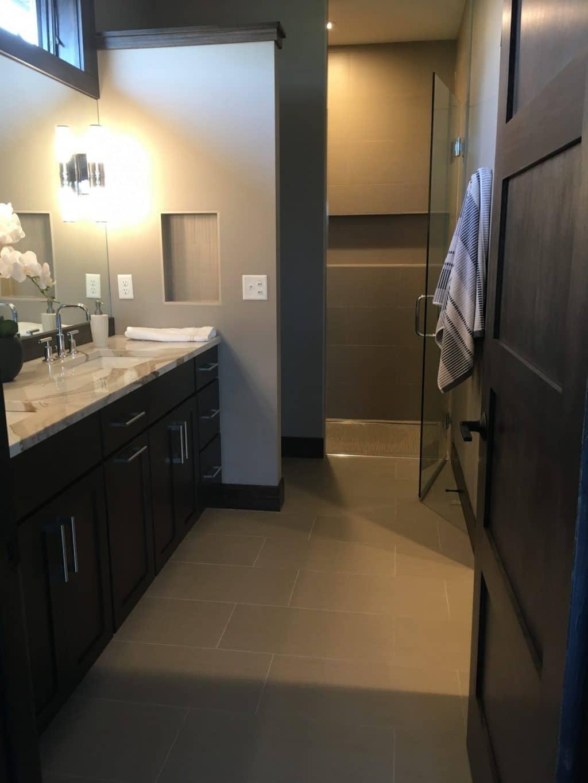 Master Bathroom Floor