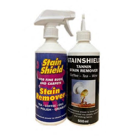 Stain Shield Stain Remover & Tannin Remover Twin Pack