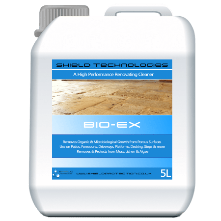 Shield Technologies – Bio Ex Algae & Moss Remover