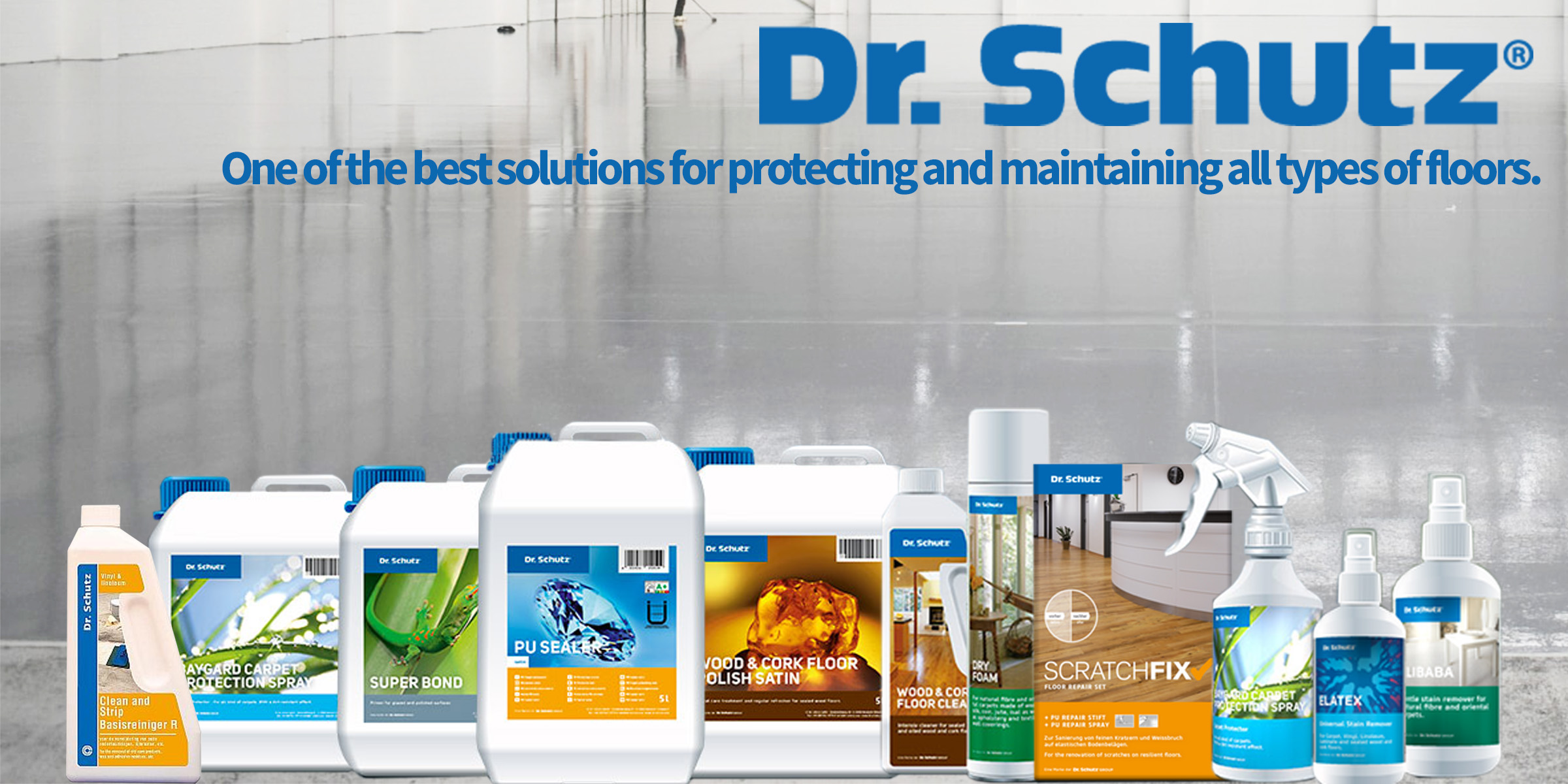 Dr Schutz Floorcare Supplies