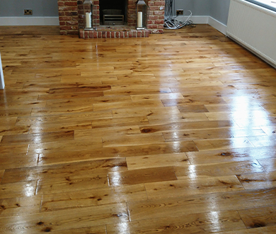 wooden floor cleaning and restoration